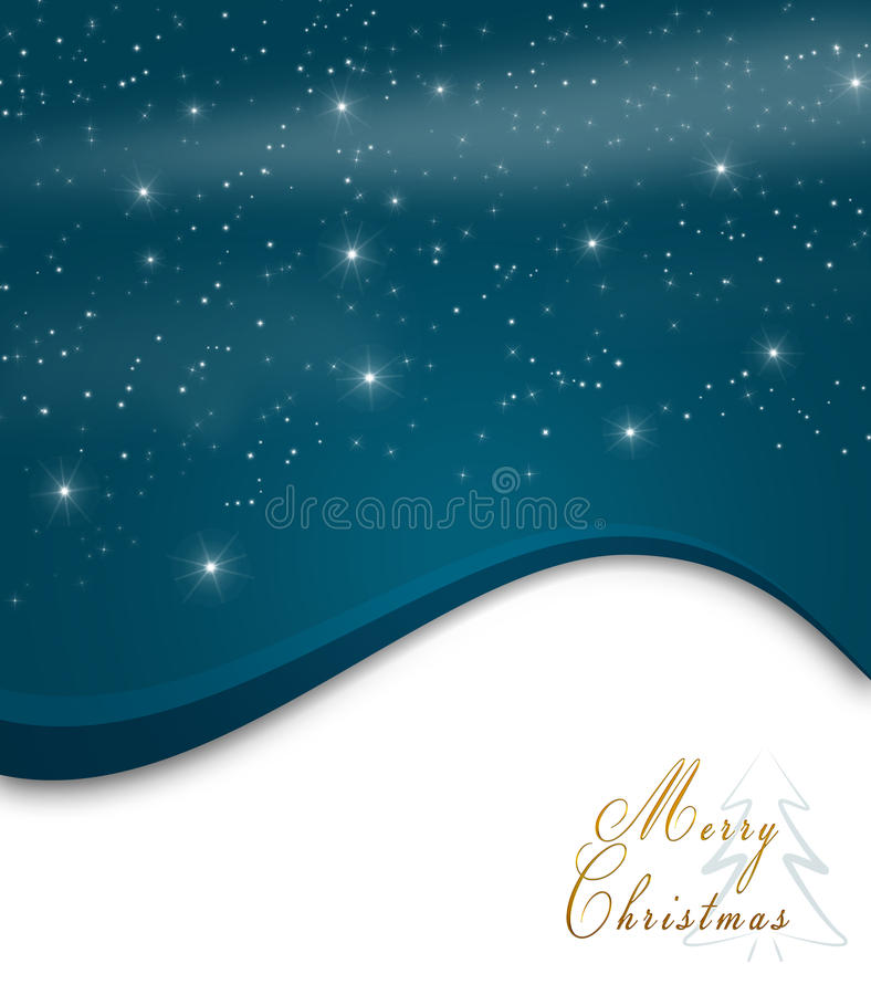 Carte de Noël illustration stock