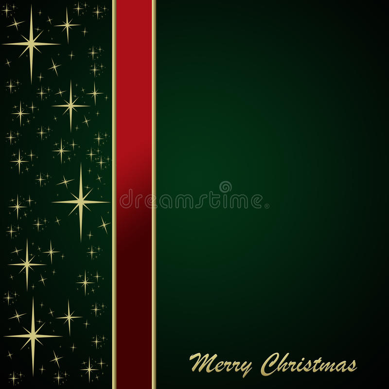 Carte de Noël illustration de vecteur
