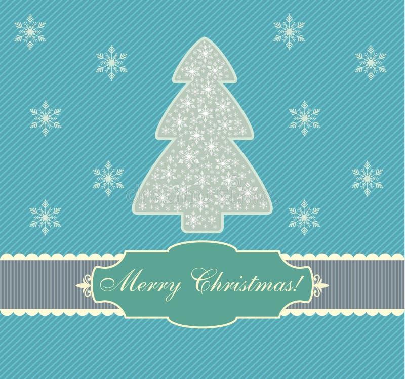 Carte de Noël, conception, vecteur, illustration illustration de vecteur
