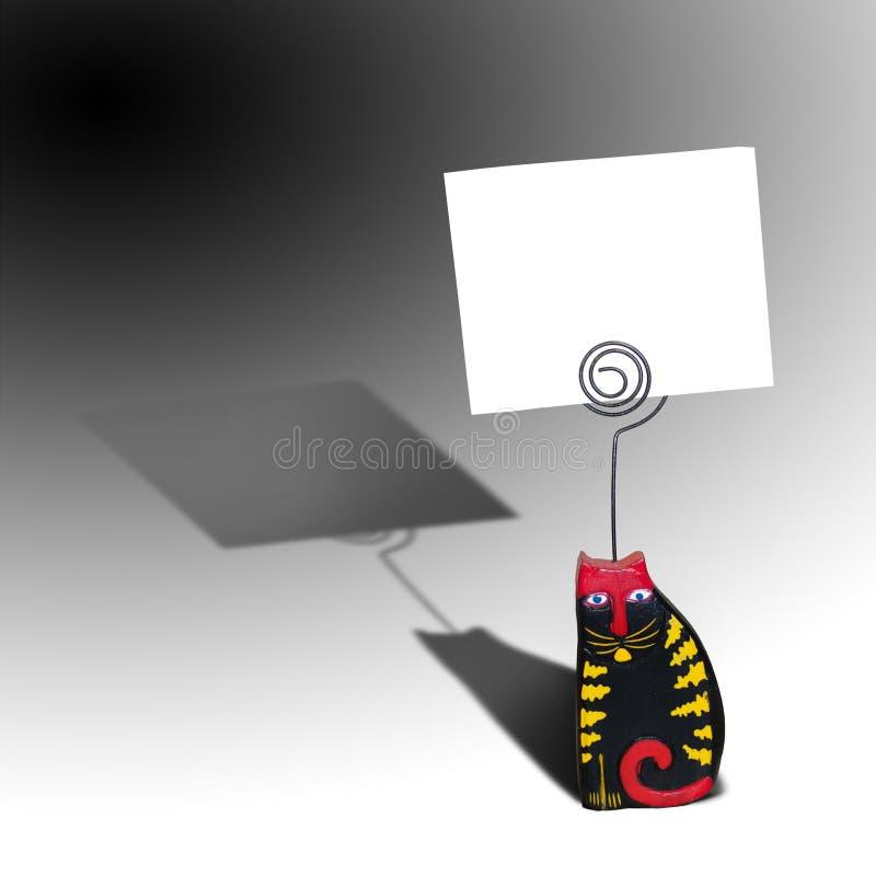 Carte de note photographie stock libre de droits