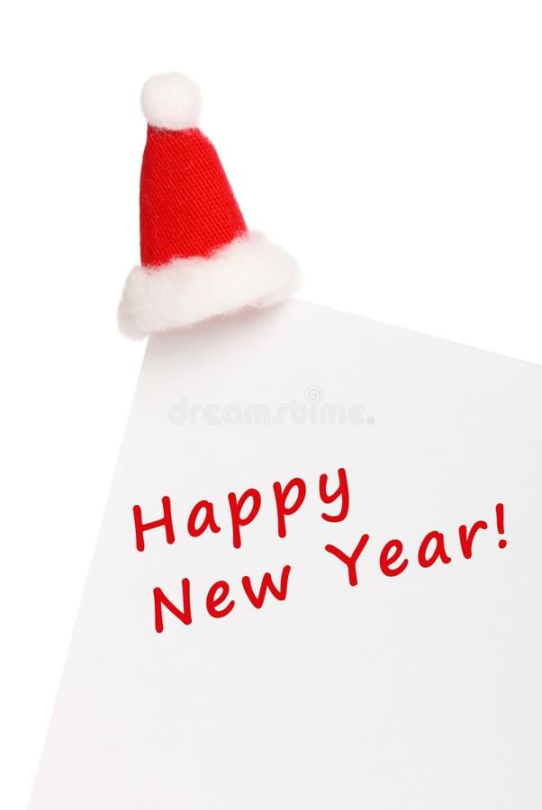 Carte de nouvelle année image stock