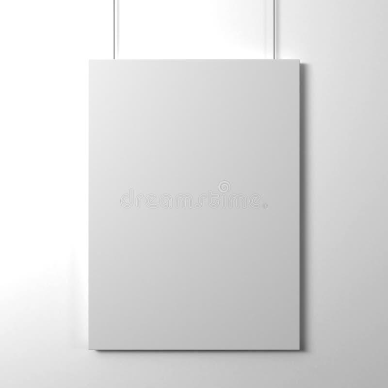 Carte de papier blanc photo libre de droits