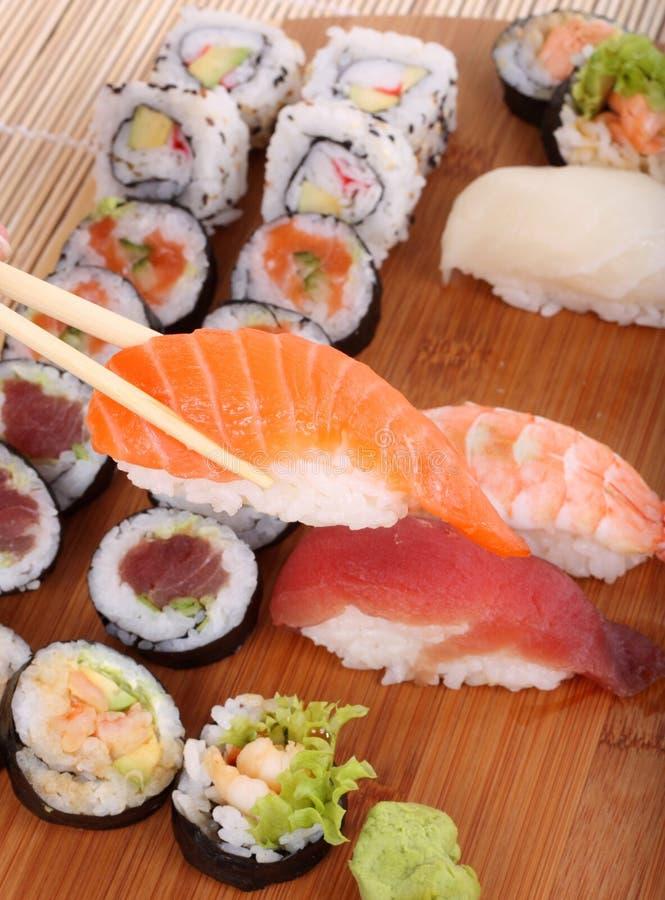 Carte de sushi images libres de droits