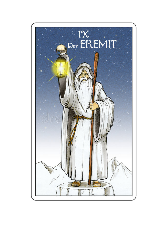 Carte de Tarot illustration libre de droits