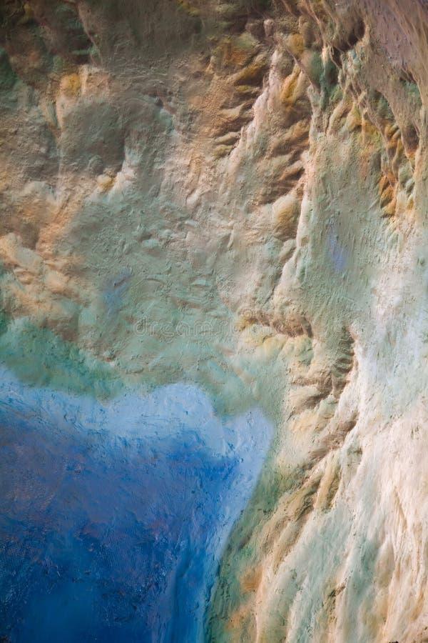 Carte de topographie image libre de droits