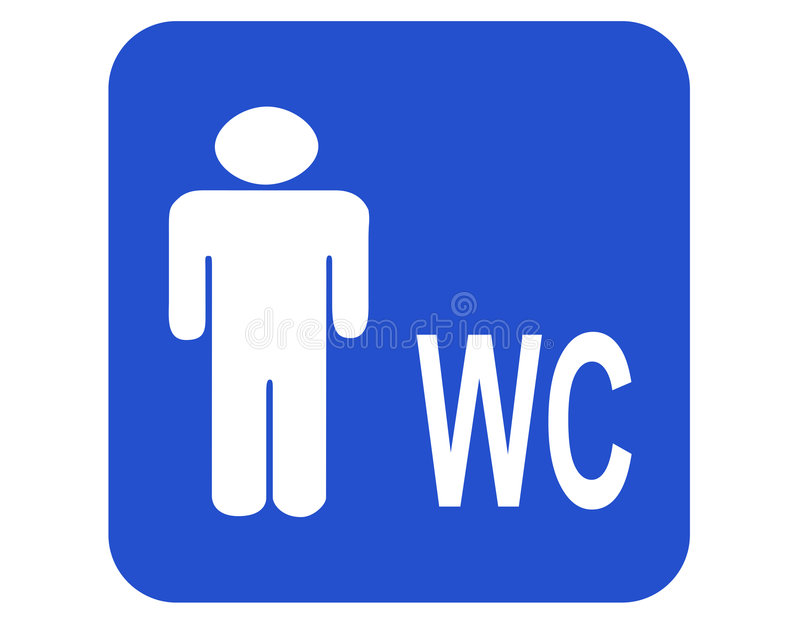 Carte de travail de mâle illustration libre de droits