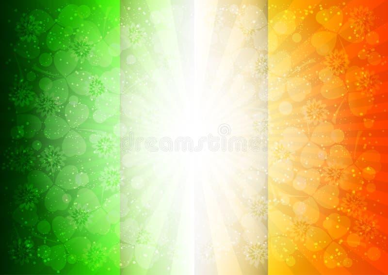Carte de vacances le jour du ` s de St Patrick images libres de droits