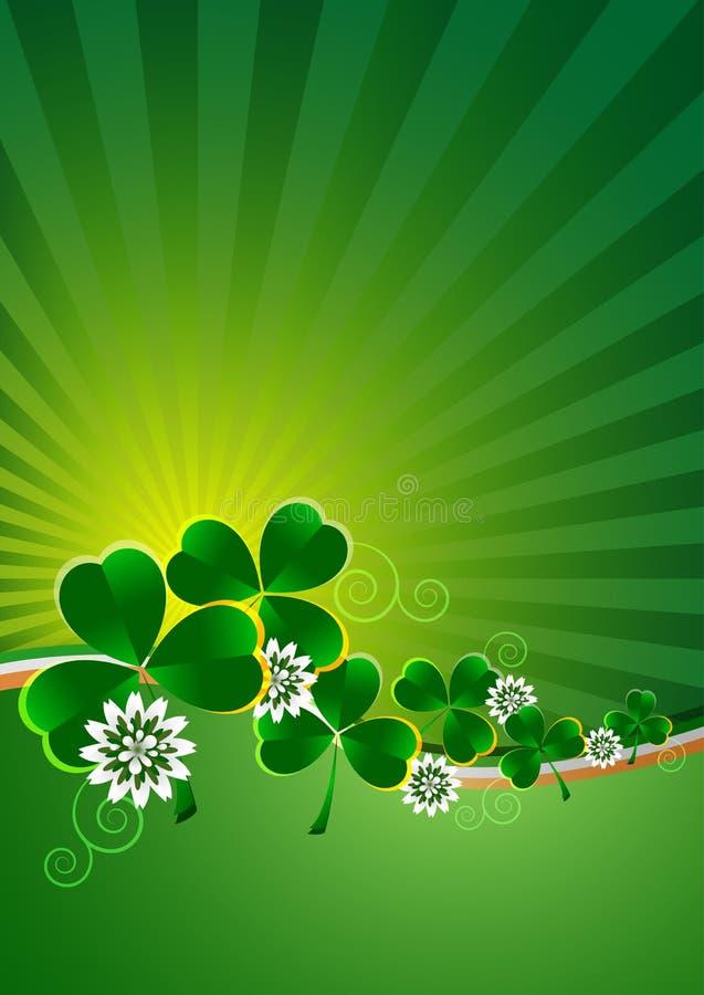 Carte de vacances le jour du ` s de St Patrick photo libre de droits