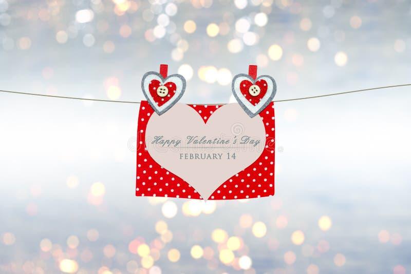 Carte de Valentines illustration de vecteur