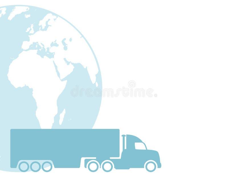 Carte de vecteur transport illustration libre de droits