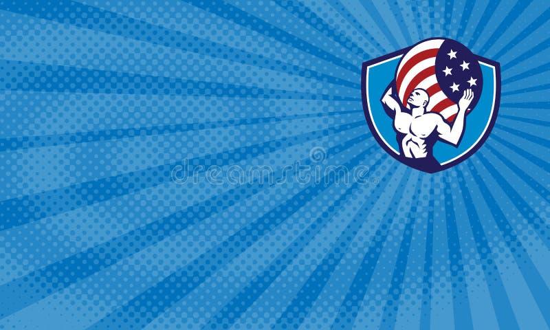 Download Carte De Visite Professionnelle Americaine Finances Datlas Illustration Stock
