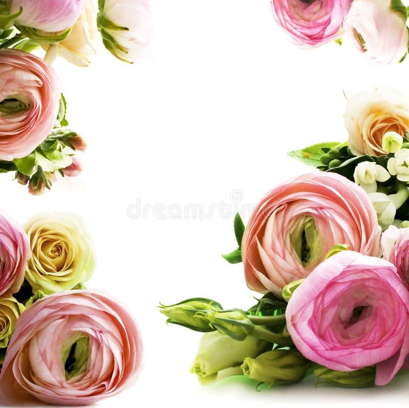 Carte de voeux avec la fleur image stock image du caramel f minit 29788077 - Motif carte de voeux ...
