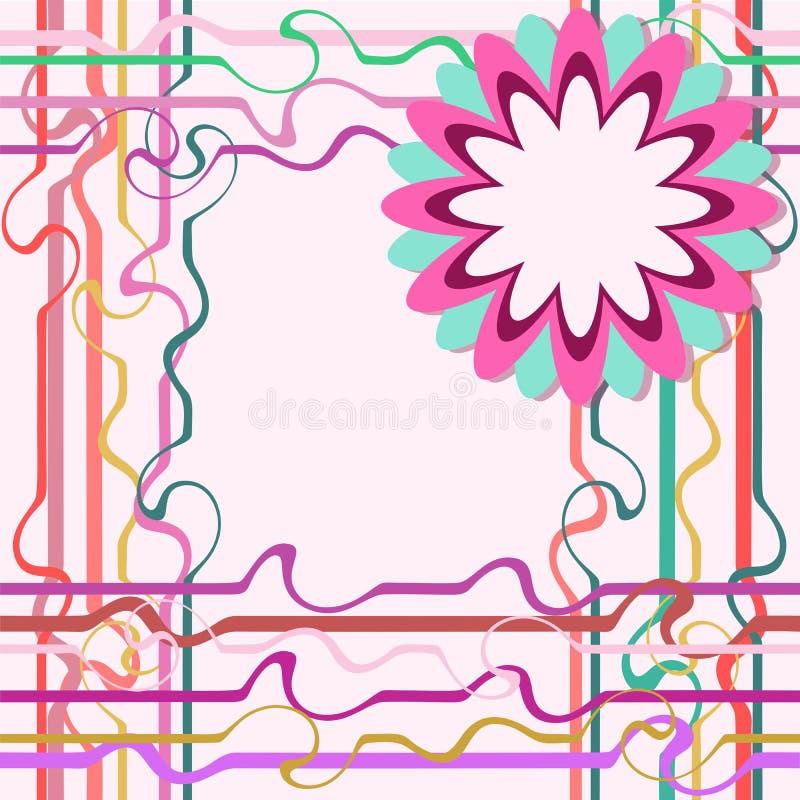 Download Carte De Voeux De Descripteur, Vecteur Illustration de Vecteur - Illustration du floral, fleur: 45350376