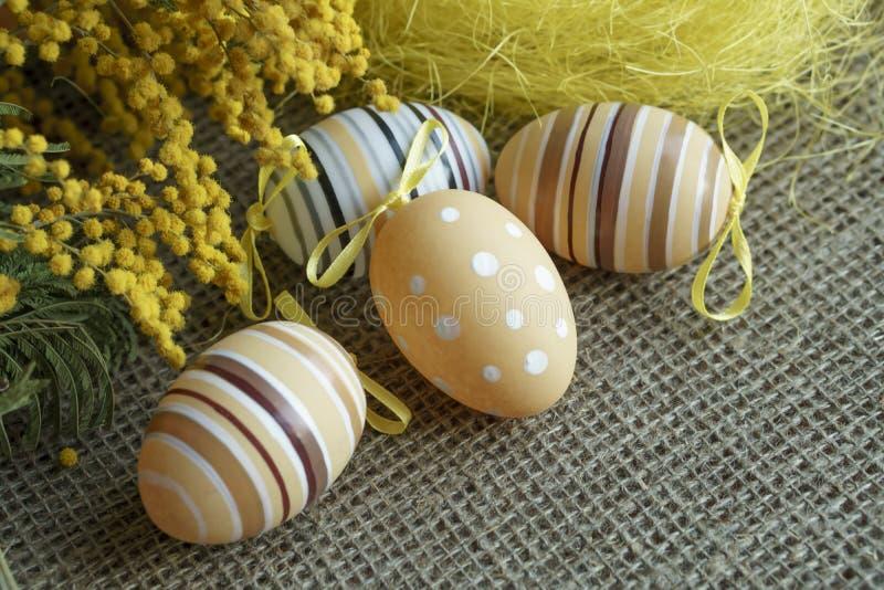 Carte de voeux de Pâques photo stock