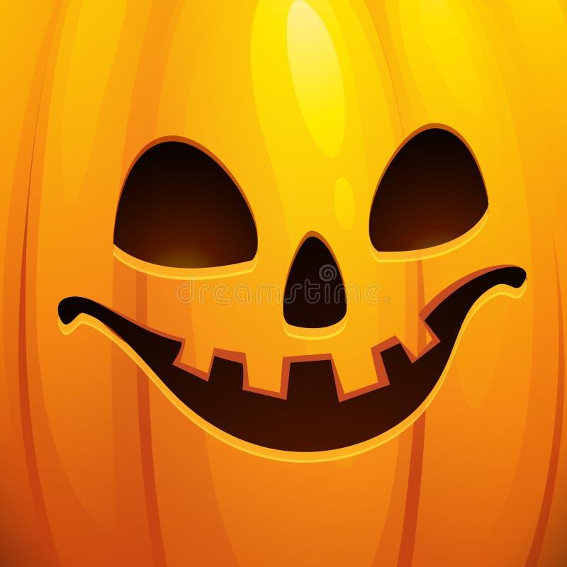 Carte de voeux drôle de Halloween Illustration de vecteur illustration de vecteur