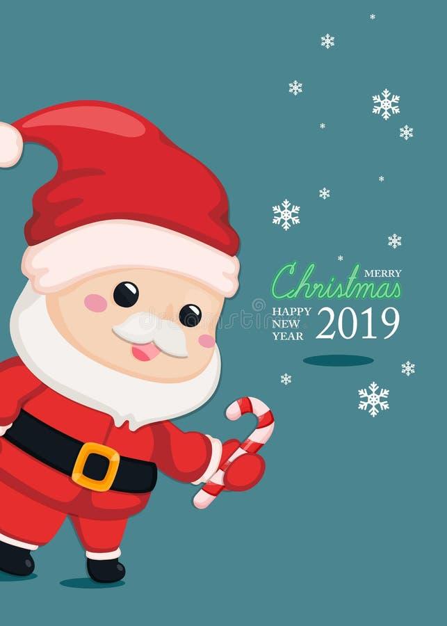Carte de voeux de fête Calibre de Noël et de nouvelle année pour la carte d'invitation Fond de Noël et de nouvelle année illustration libre de droits