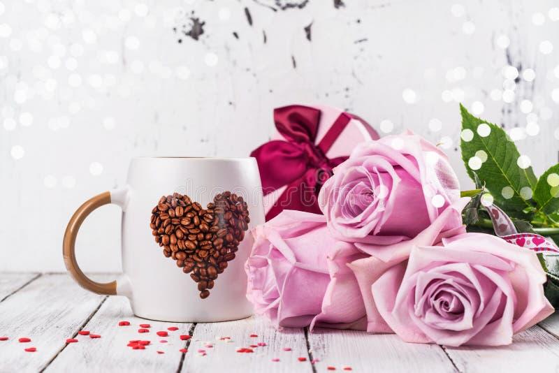 Carte de voeux de jour du `s de Valentine photos libres de droits