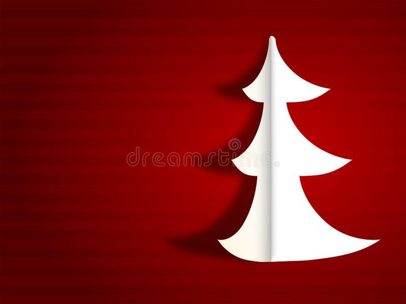 Carte de voeux moderne de Joyeux Noël illustration stock