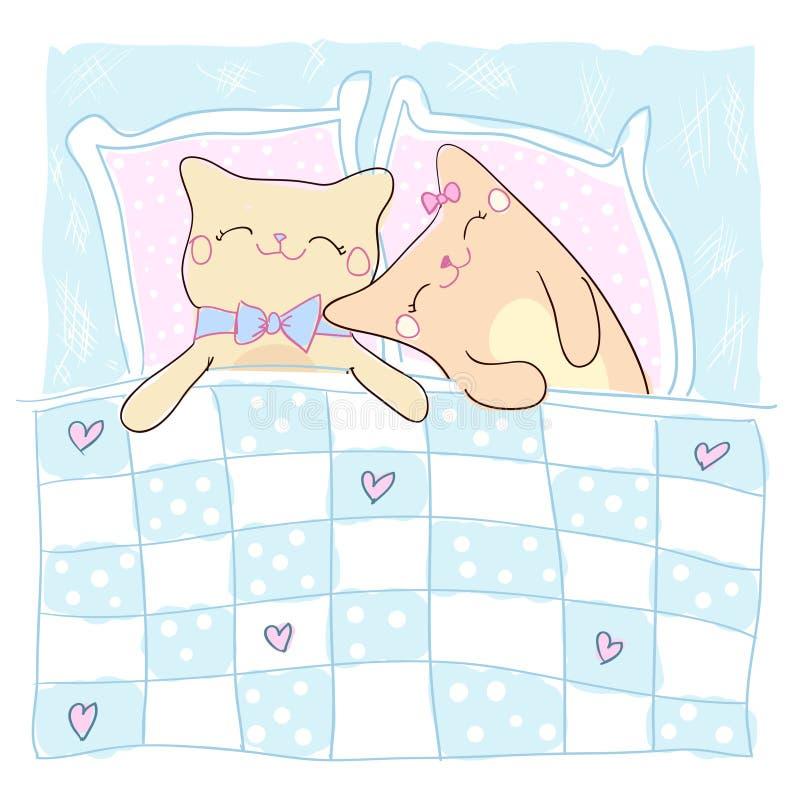 Carte de voeux pour aimé. illustration libre de droits