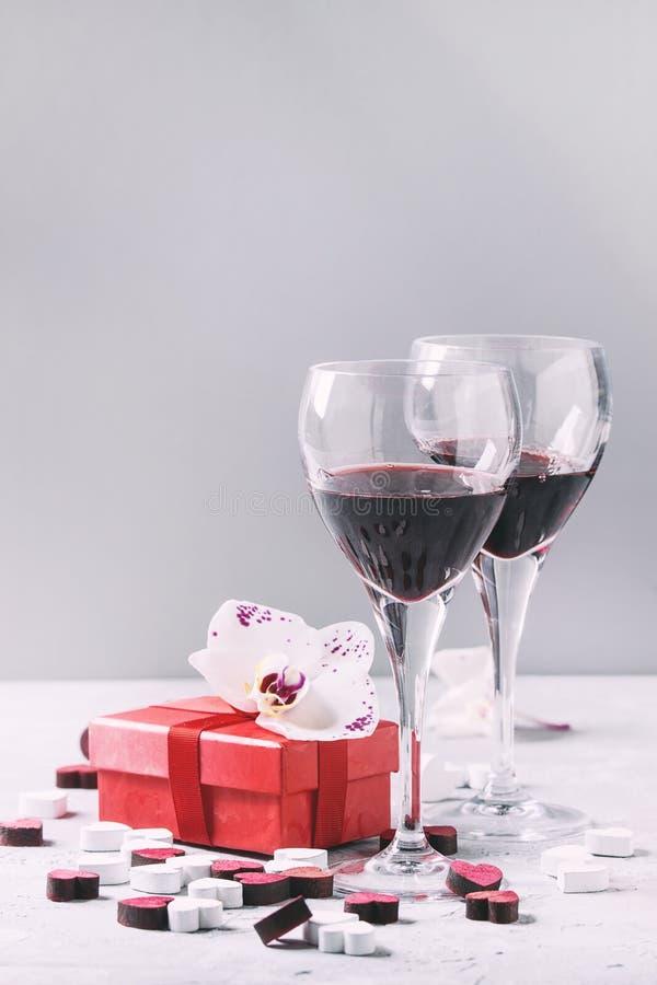 Carte de voeux de Valentine d'amour images stock