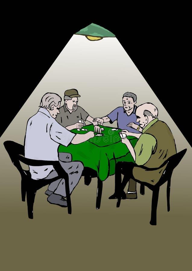 Carte del gioco degli anziani