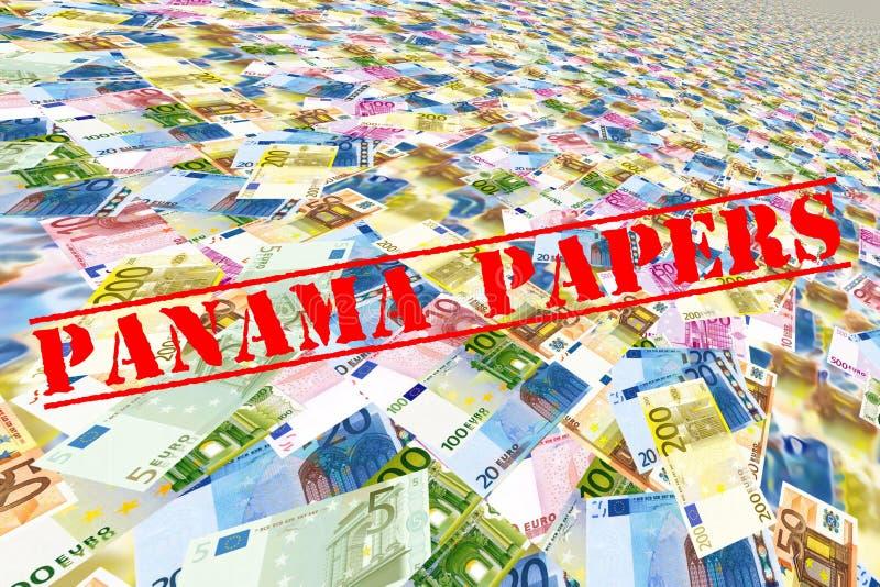 Carte del Panama fotografie stock libere da diritti