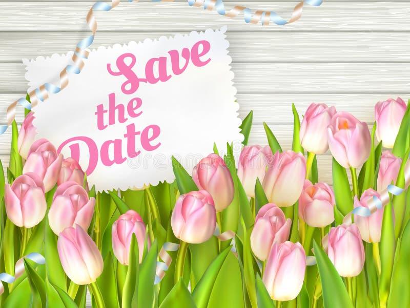 Carte dell'invito di nozze ENV 10 royalty illustrazione gratis