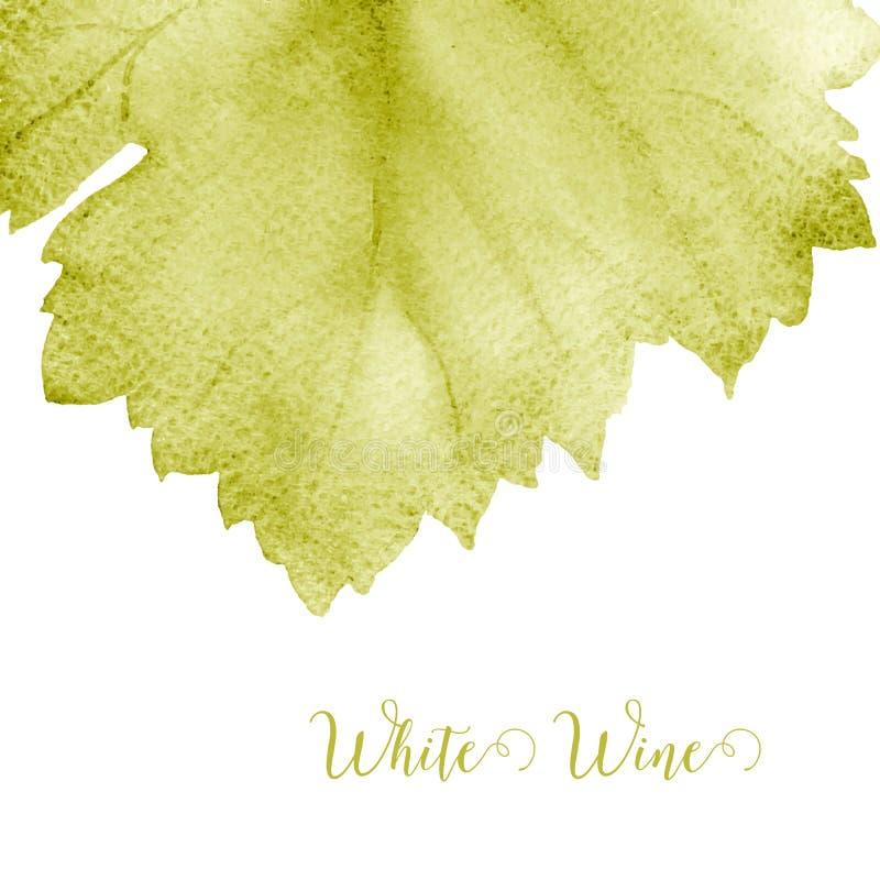 Carte des vins illustration de vecteur