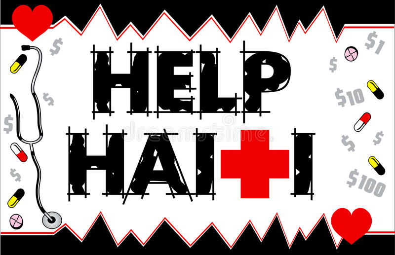 Carte du Haïti Funraiser d'aide
