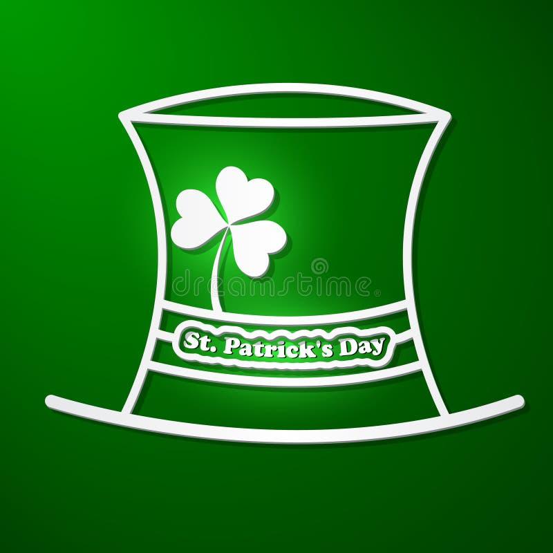 Carte du jour de St Patrick illustration libre de droits