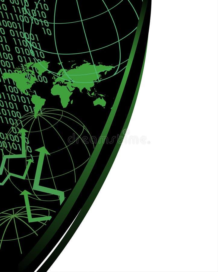 Download Carte Du Monde Et Numéros De Digitals Illustration de Vecteur - Illustration du flèches, worldwide: 8668147