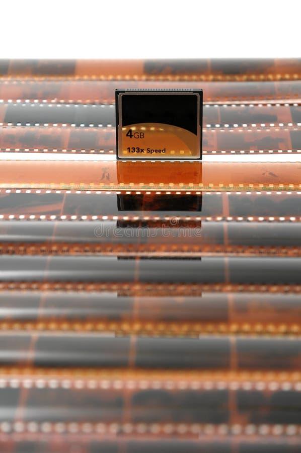 Download Carte et film photo stock. Image du vieux, film, bavure - 8651152