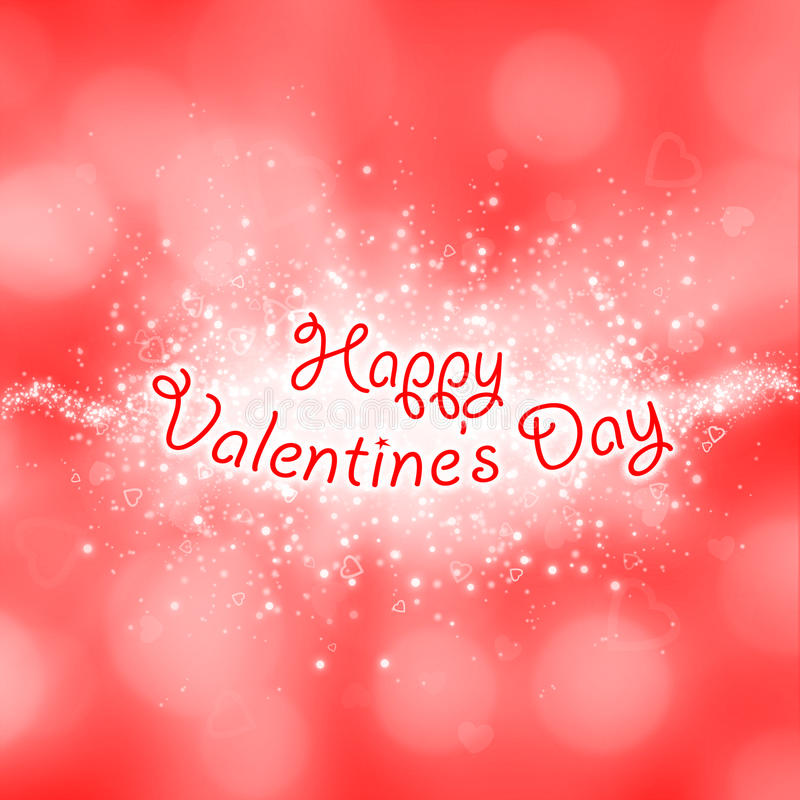 Carte heureuse de jour de valentines illustration libre de droits