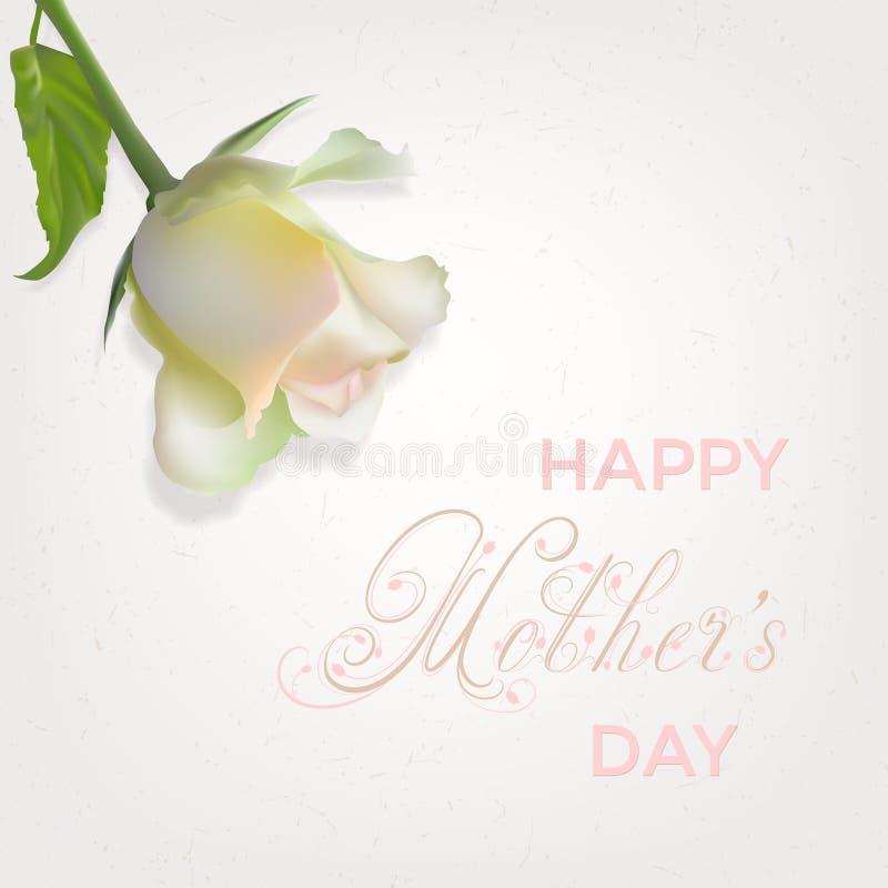 Download Carte Heureuse De Jour Du `s De Mère Illustration de Vecteur - Illustration du floral, lame: 87701665