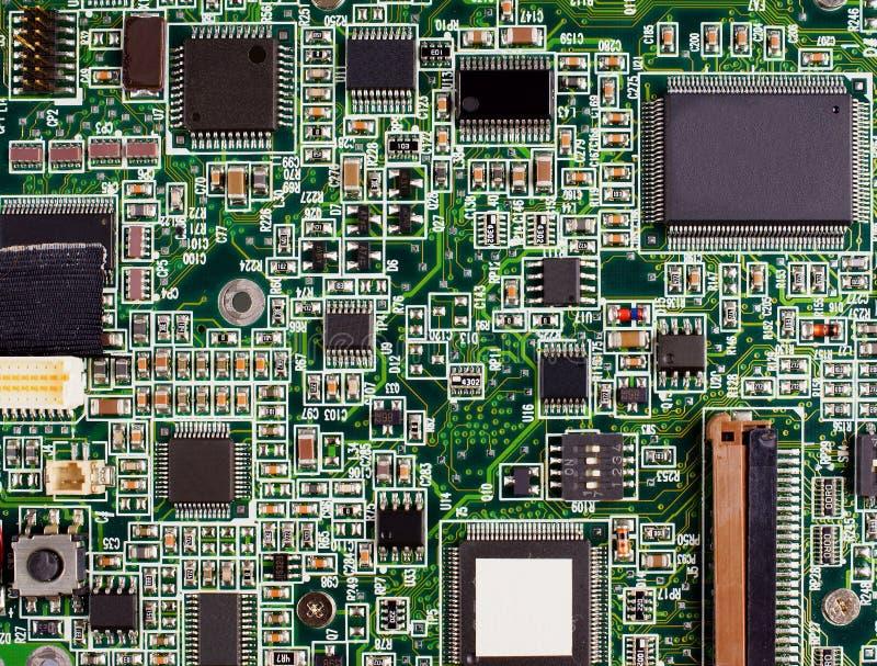 Carte mère d'ordinateur photo libre de droits