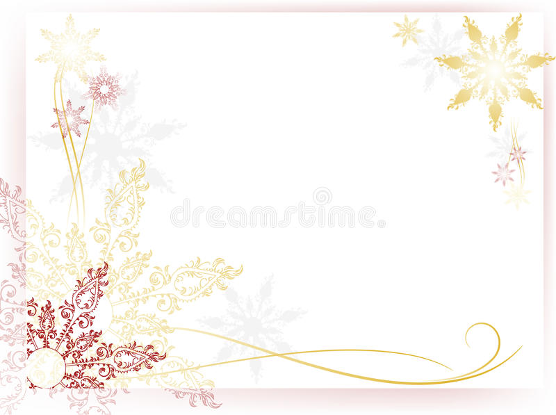 Carte mignonne d'an neuf illustration stock