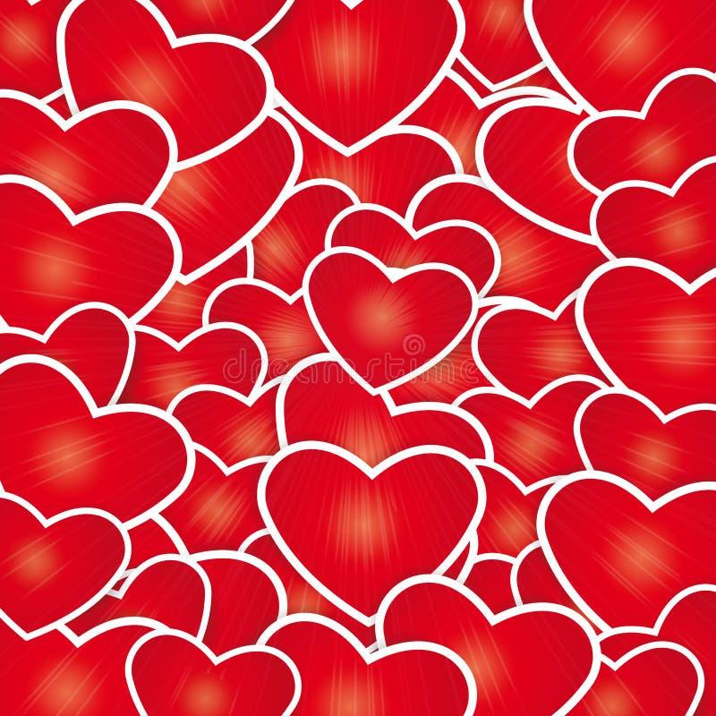 Carte mignonne le jour de valentine illustration stock