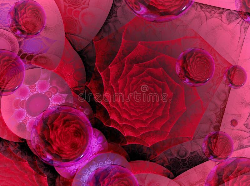 Carte moderne de valentine illustration libre de droits
