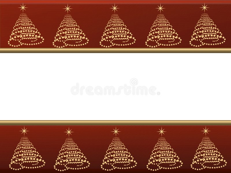 Carte ou fond de Noël illustration libre de droits