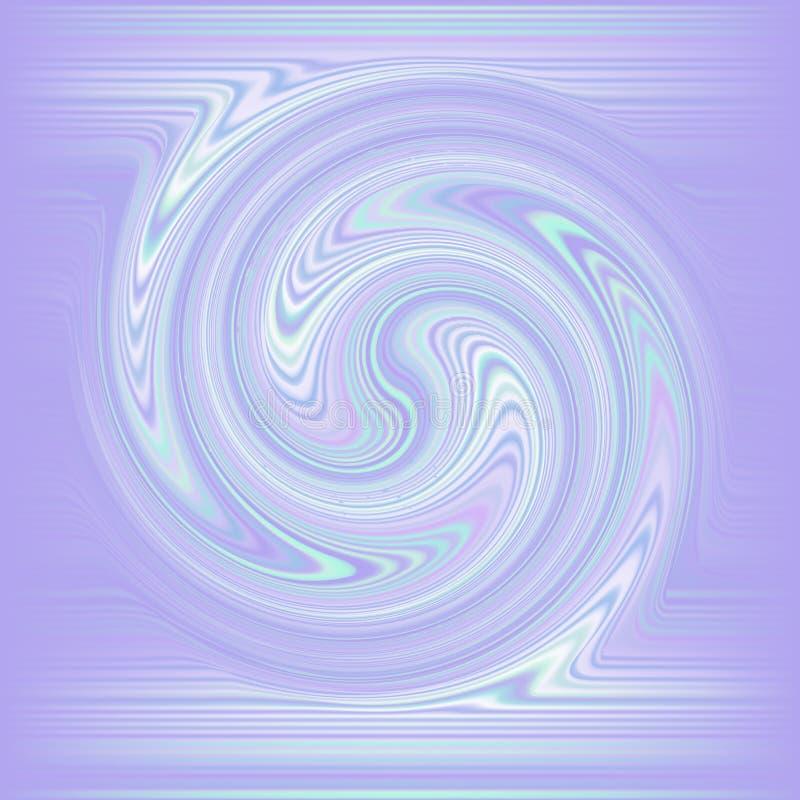 Carte ou fond olographe de queue de sirène illustration de vecteur