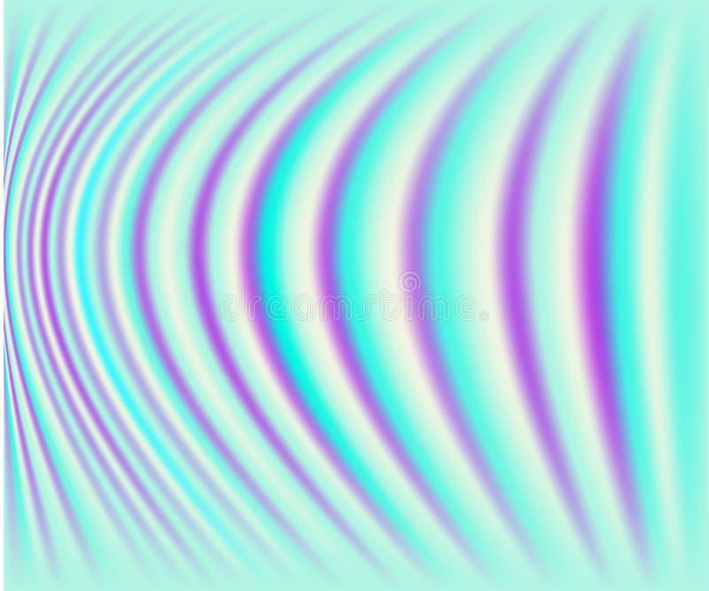 Carte ou fond olographe de queue de sirène illustration stock