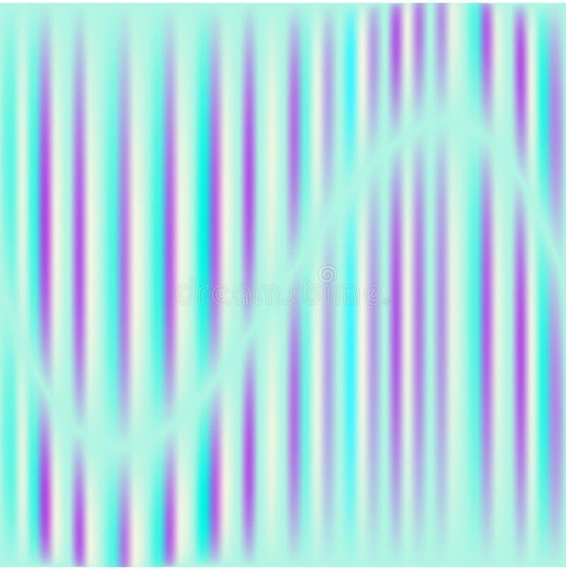 Carte ou fond olographe de queue de sirène illustration libre de droits