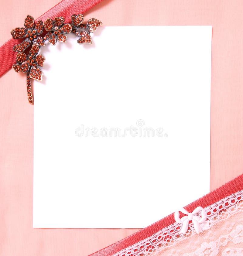 Carte Postale Avec La Page Du Papier Blanche Photo stock - Image du illustration, invitation ...