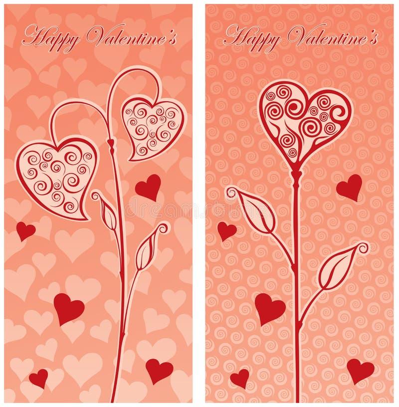 Carte postale d'amour photos stock