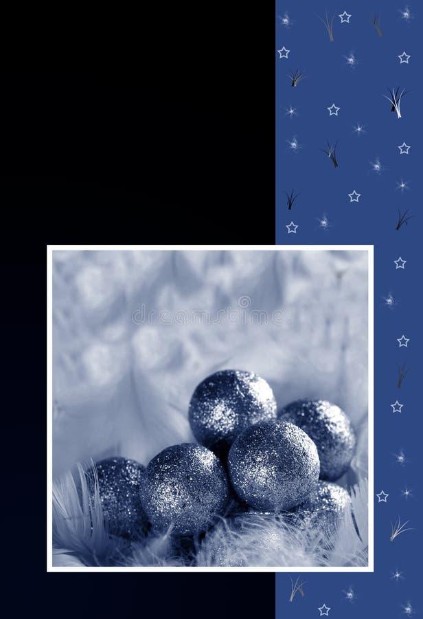 Carte postale de Noël illustration stock