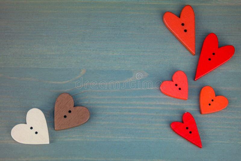 Carte postale pour Valentine illustration de vecteur