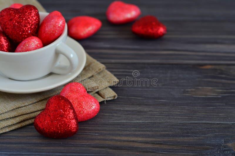Carte pour la Saint-Valentin photo stock