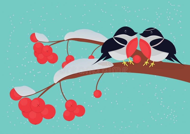 Carte pour le jour du ` s de valentine illustration stock