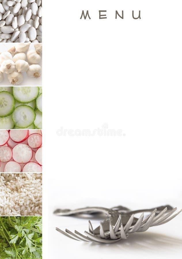 Carte pour votre restaurant images stock