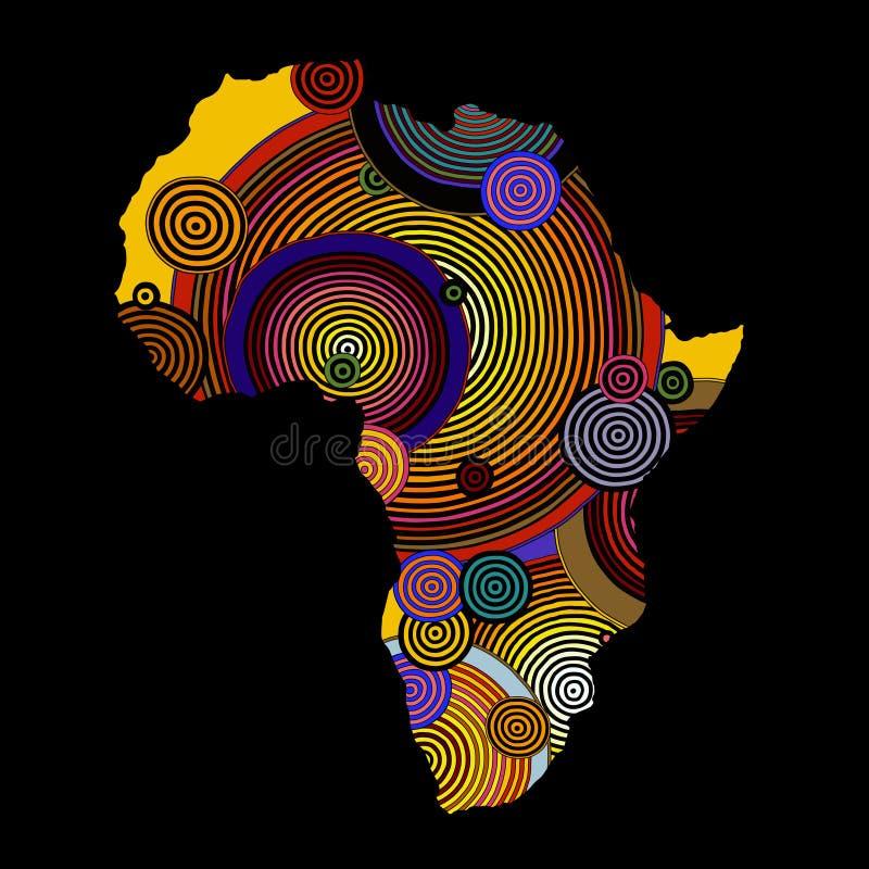 Aimant de r/éfrig/érateur Namibie Travel Tribal Illustration Afrique